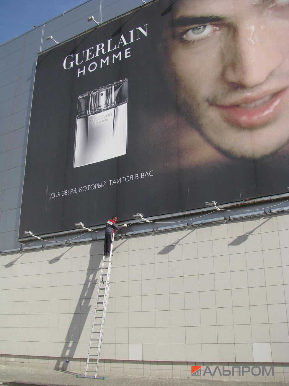 Монтаж наружной рекламы в Тольятти и Самаре