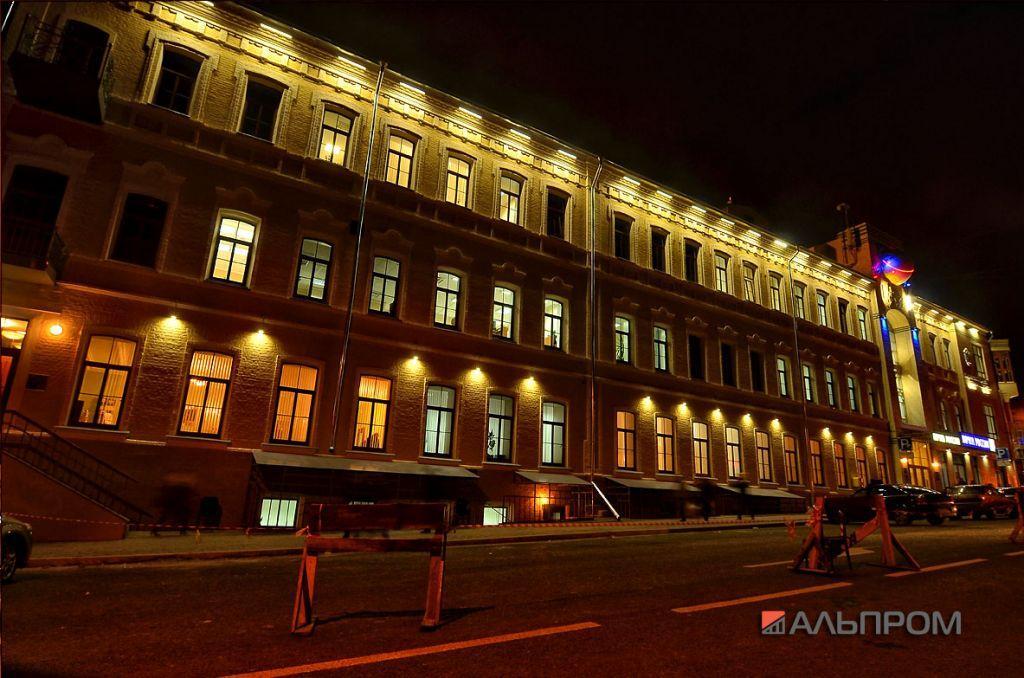 Архитектурная подсветка Самарского Главпочтамта