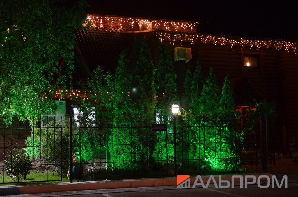 Светодиодная подсветка светодиодными гирляндами
