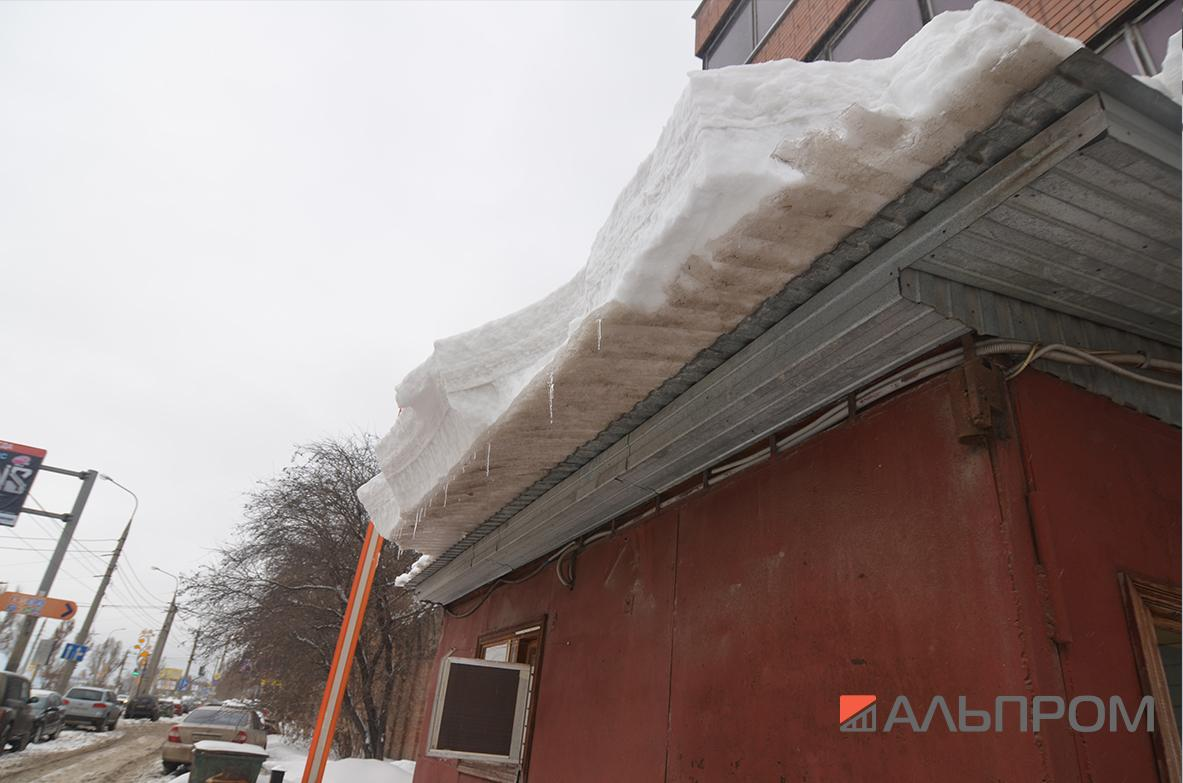 Удаление снега и сосулек в Самаре и Тольятти